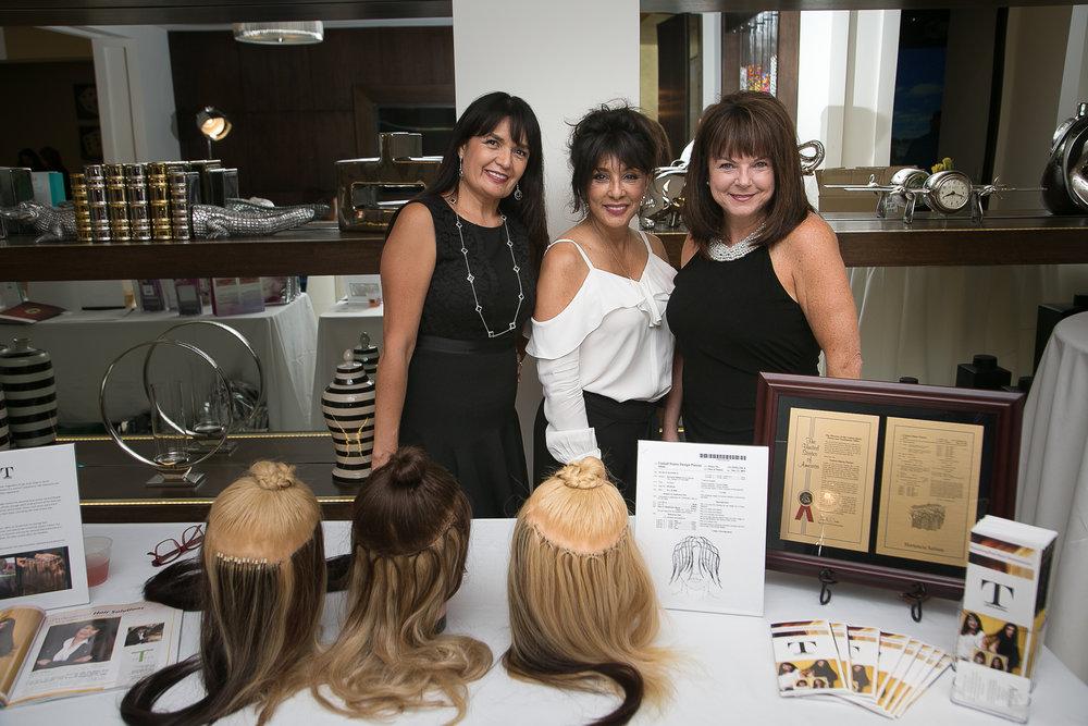 Tencia Salinas, Karen Vinci and Jan Beckman
