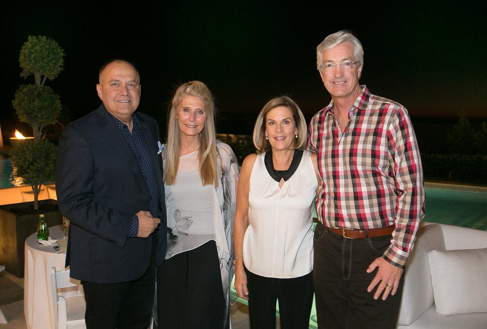 Errol de Jager, Kimberly Smith, Kimberly Crawford and Dick Crawford