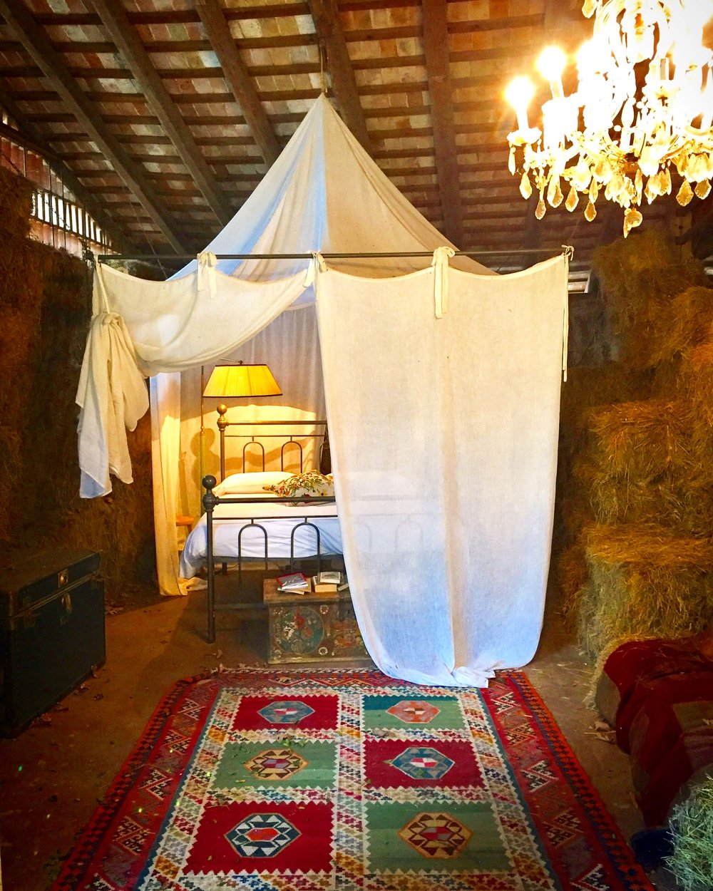 The barn suite at La Subida