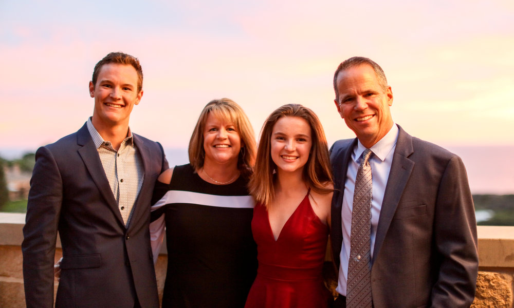 Brandon, Lori, Kaitlyn & Steve Powell