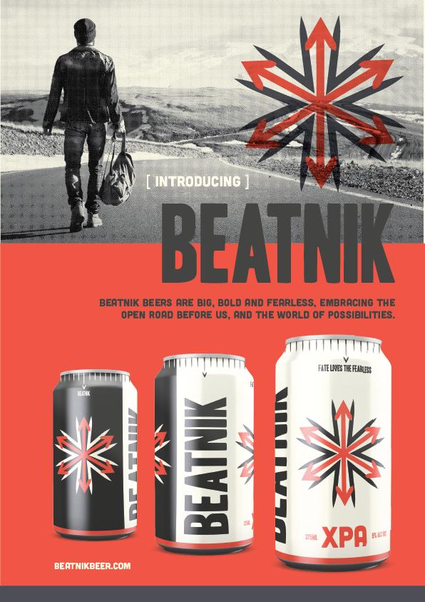 Magazine advert launching Beatnik