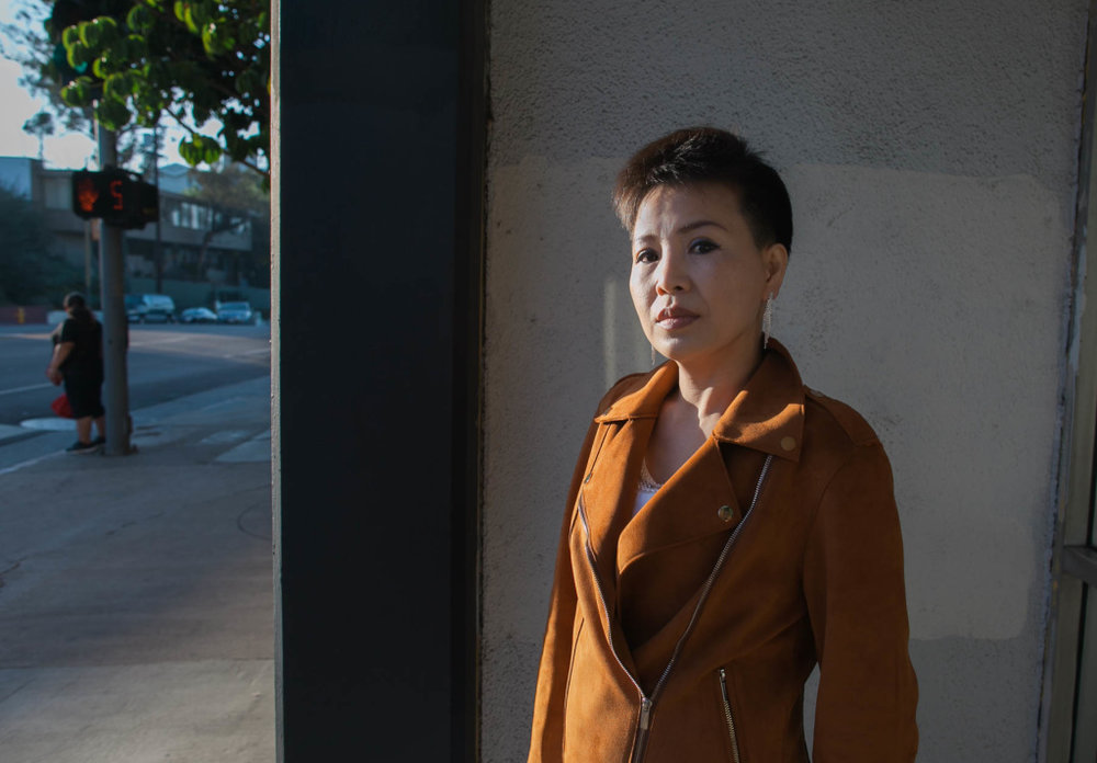 North Korea refugee May Joo survived a harrowing journey before arriving in Los Angeles where she met Sarah Cho and her father at a ministry that serves North Koreans.   SUSANICA TAM/FOR KPCC