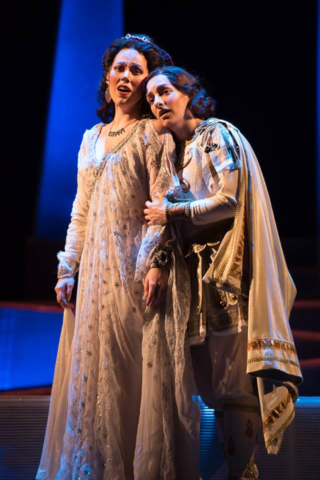 Opera Delaware, Semiramide and Arsace.  Photo: Joe del Tufo, Moonloop Photography.