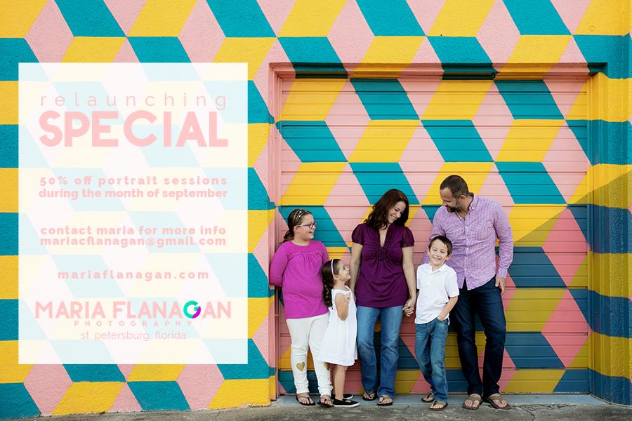 maria flanagan photography relaunch special