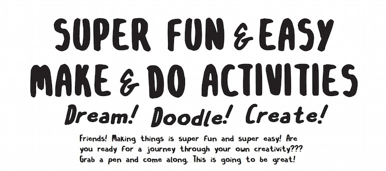 cicadamagazine :                 Feeling creative? Find more Super Fun & Easy Activities here!