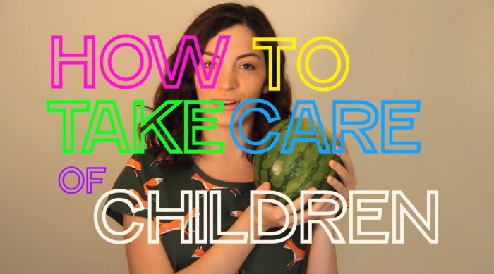 hellogiggles :      HOW TO WITH LAURA: HOW TO TAKE CARE OF CHILDREN     by Laura Kadner    http://ift.tt/NgIB43    IT IS ME AND MY MELON