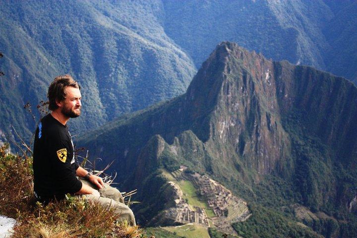 Over looking Machu Picchu at sunrise, July 2010 - cjG.