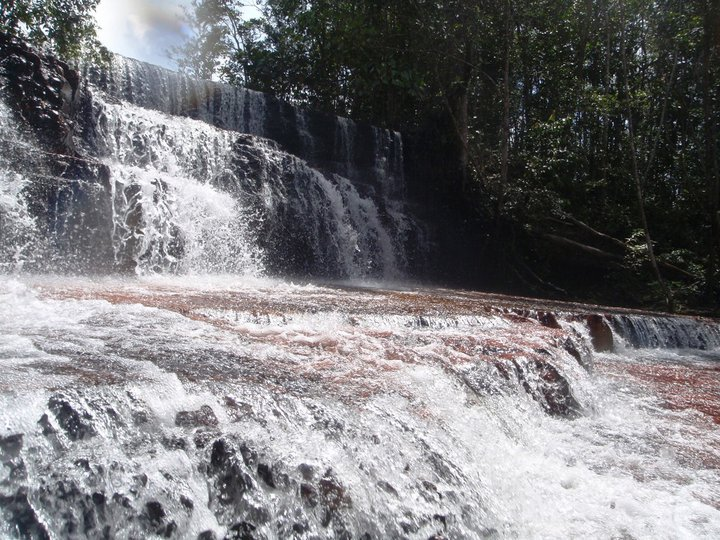 The tiger falls, a few clicks north of the Brazilian-Venezuelan border - cjG.