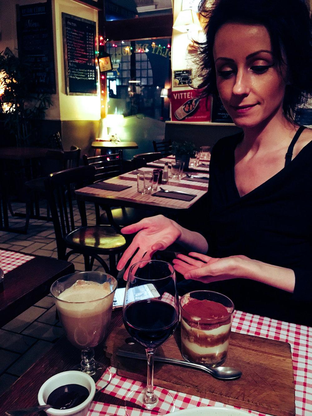 Decadent desserts at the Epoch