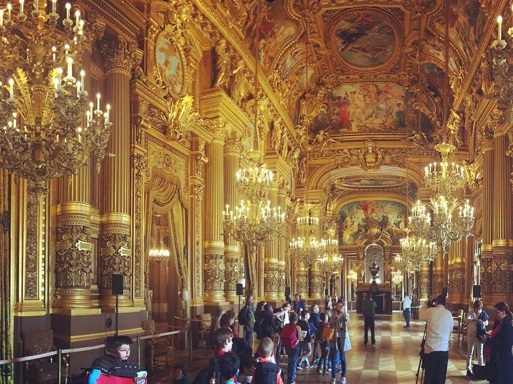 The Palais Garnier