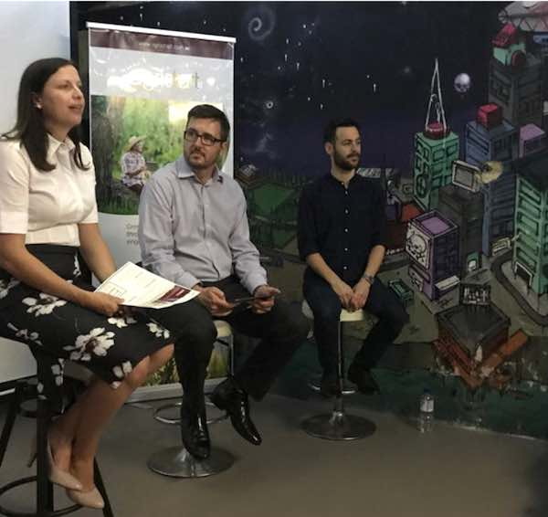 Dr Natasha Ayers, Mark Stickells, Omri Wislizki - Studio StartUp