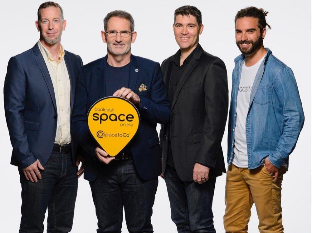 Daniel McCullen, Steve Baxter, Jeremy Hurst, Daniel Franco - Shark Tank