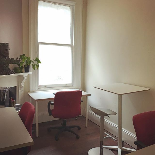 "Our 3 desk #office, ""The Study"" has now become available for hire, in #cityofperth in our #StudioStartup  #coworking hub"