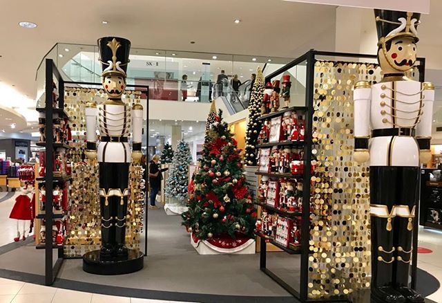 David Jones has Xmas decorations already. No... I'm not really yet