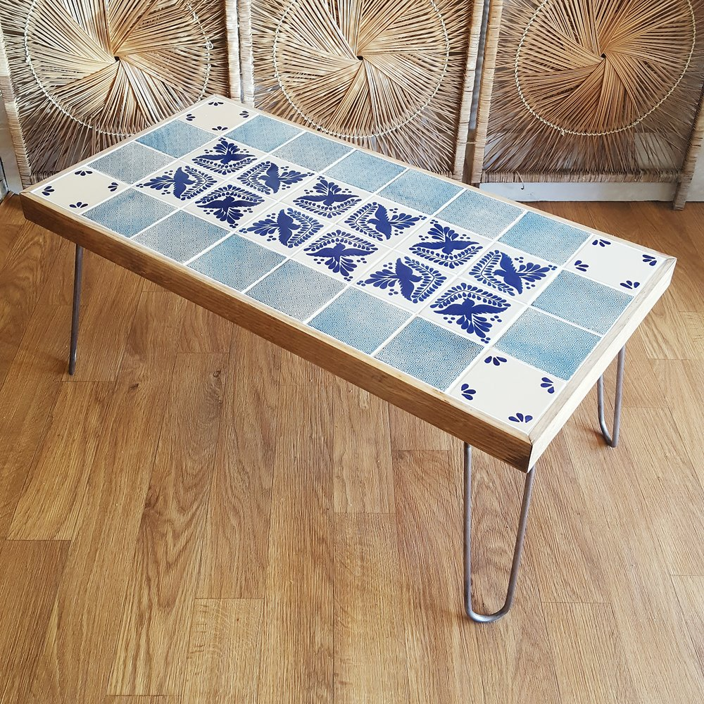 Blue Bird Talavera Coffee Table