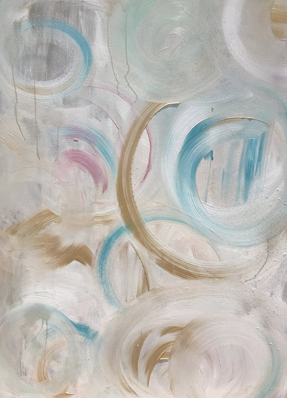 Waves acrylic on canvas
