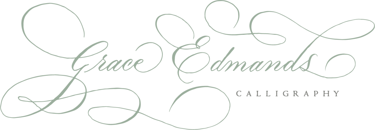 Grace Edmands Calligraphy