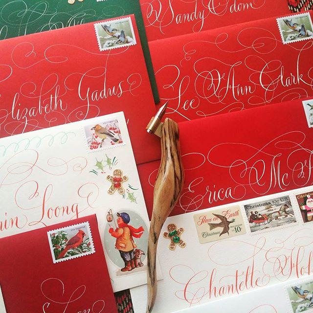 A little Christmas snail mail! #snailmail