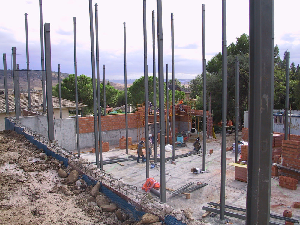 The current IMM facility in Madrid, Spain, under construction in 2006.