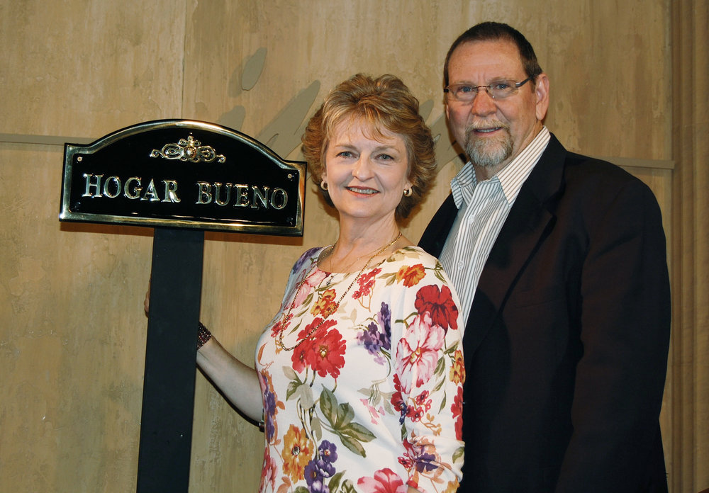 John and Ruth Merrell, directors of IMM from 1998-2009.