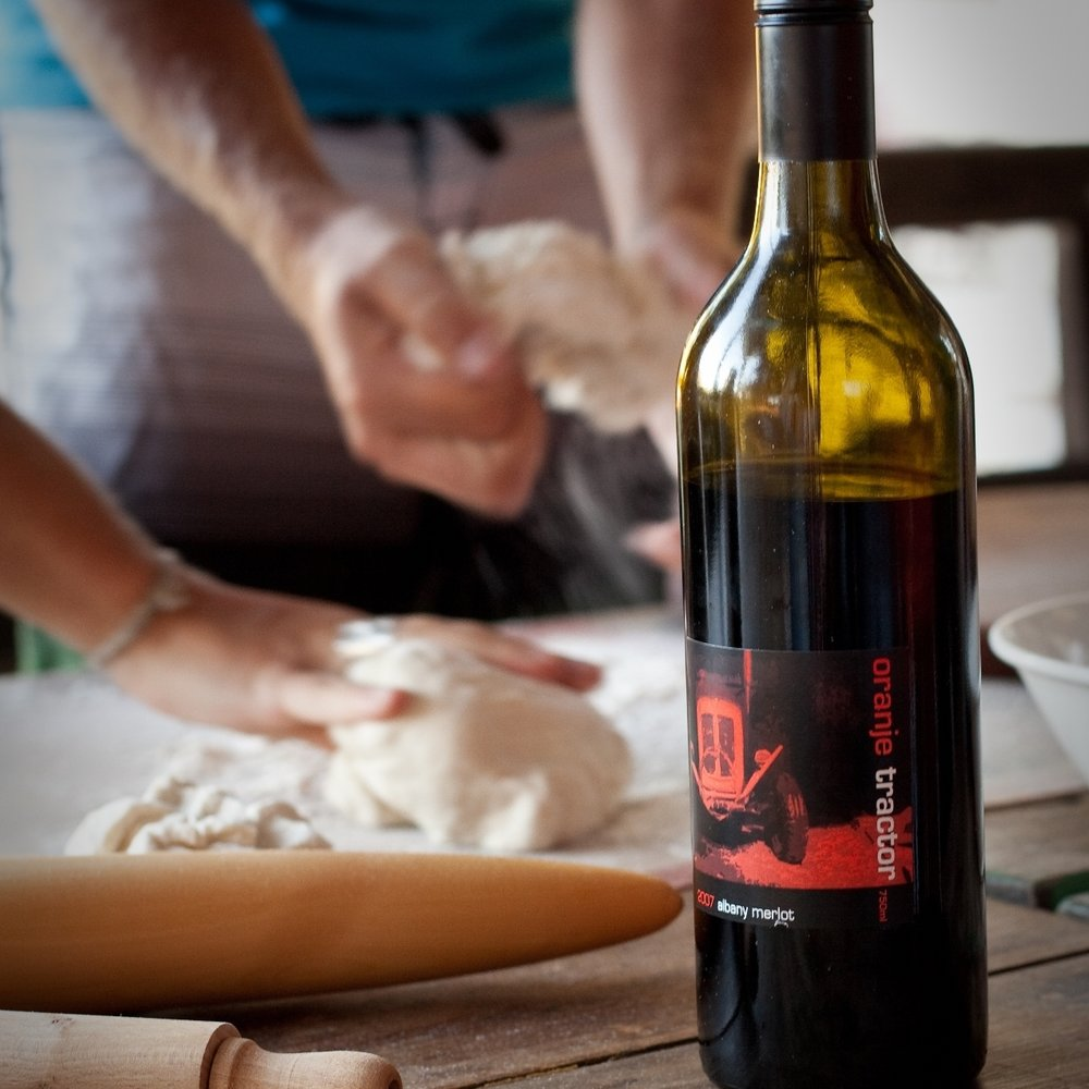 Join us for fun pizza nights in summer featuring fresh, local ingredients and organic wine, naturally