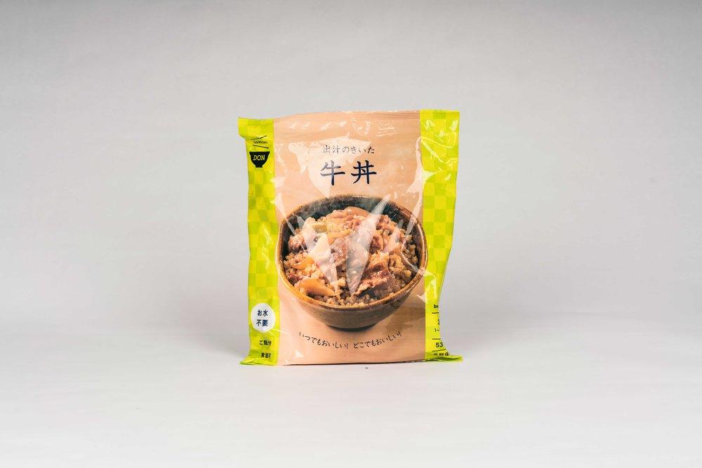 (长期保存牛丼饭)