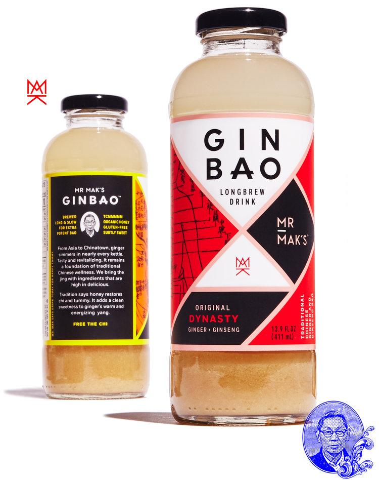 ▲  Mr Mak's  的  Gin Bao  产品( Mr Mak's  官网)