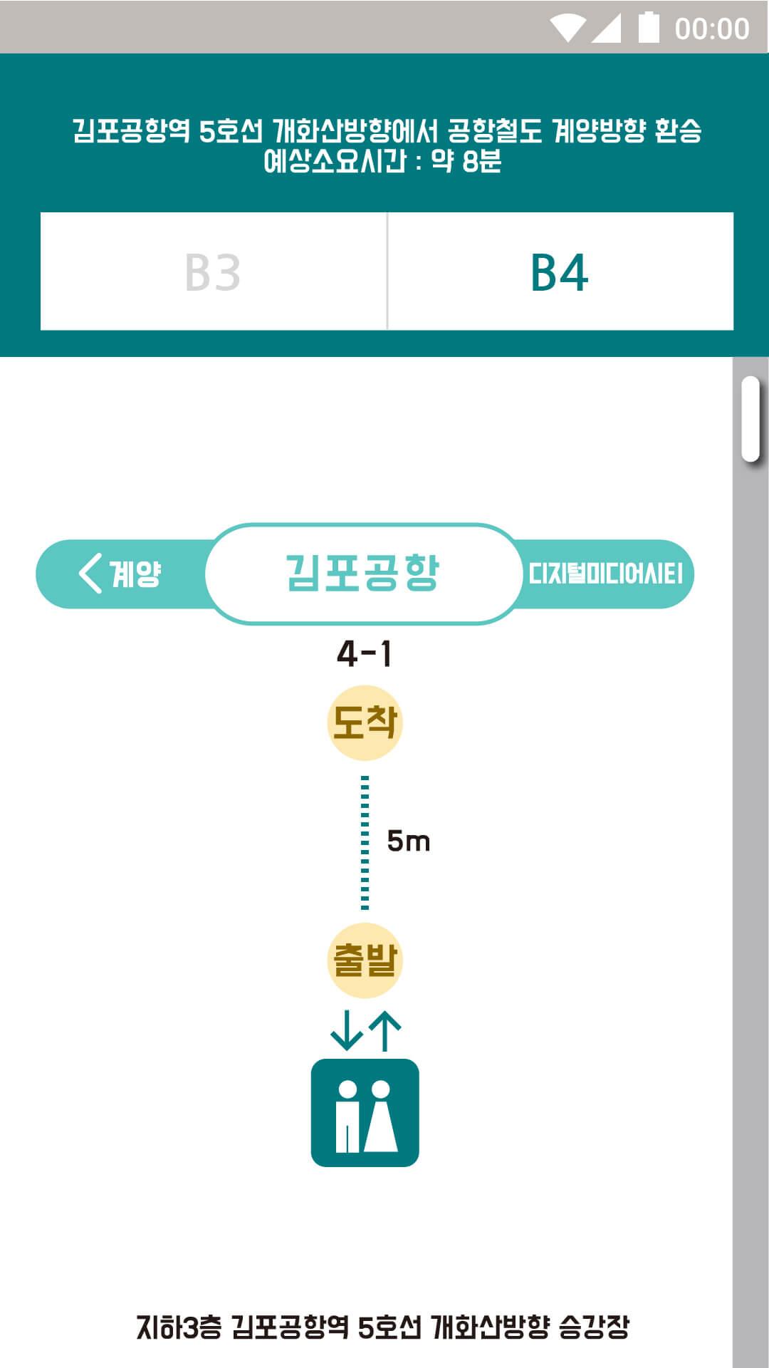 김포공항역 B4