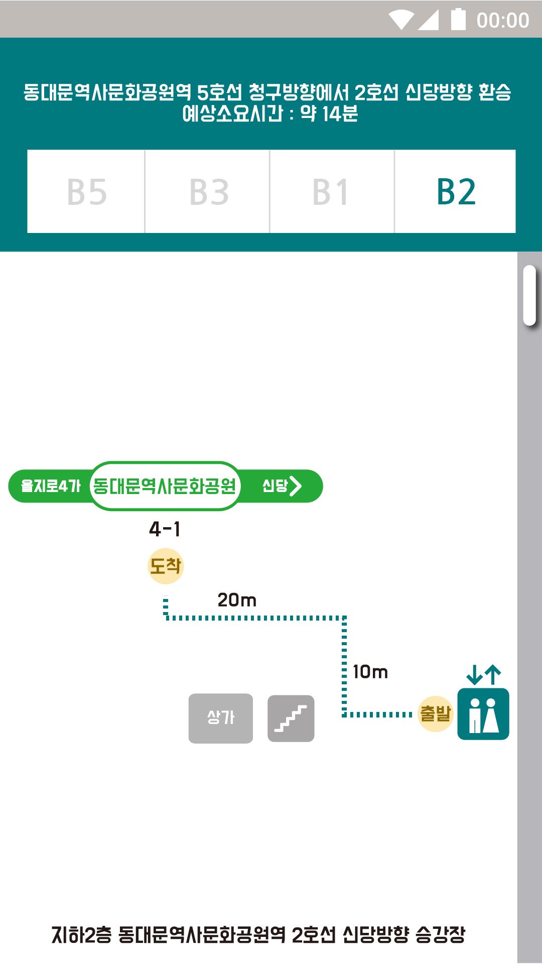 동대문역사문화공원역 B2