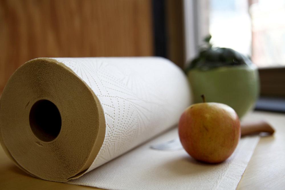 7 kitchen hacks for Vastly paper towels