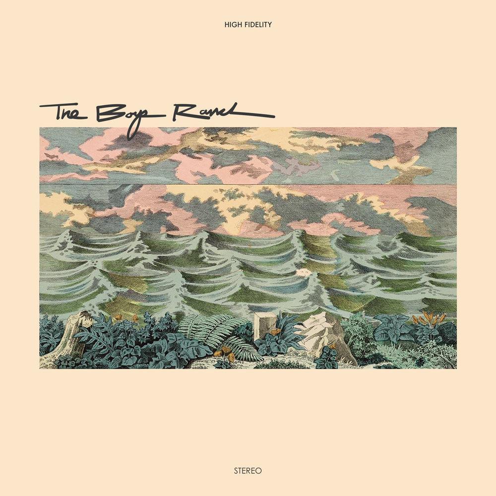 the boys ranch album art cover kyle jorgensen design dutch surf music