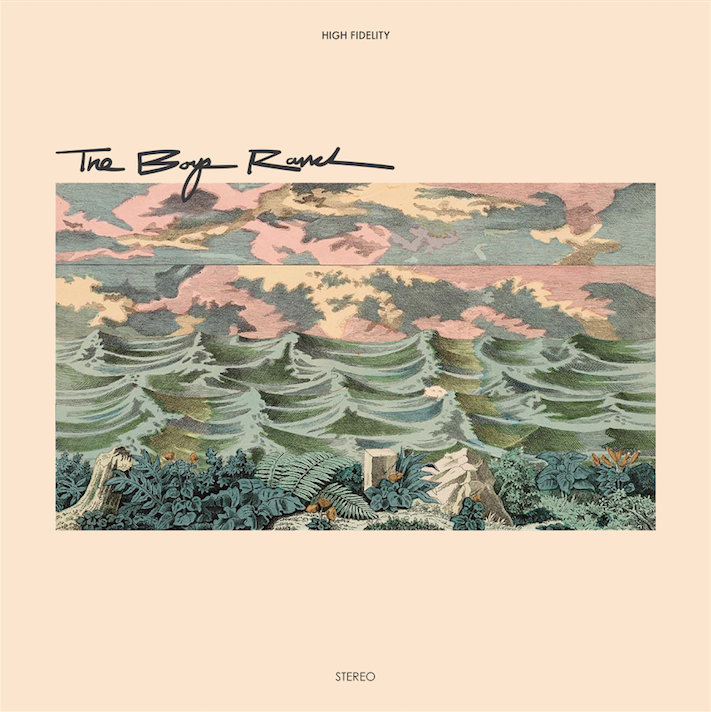 The Boys Ranch Extended Play Album Surf Rock Music