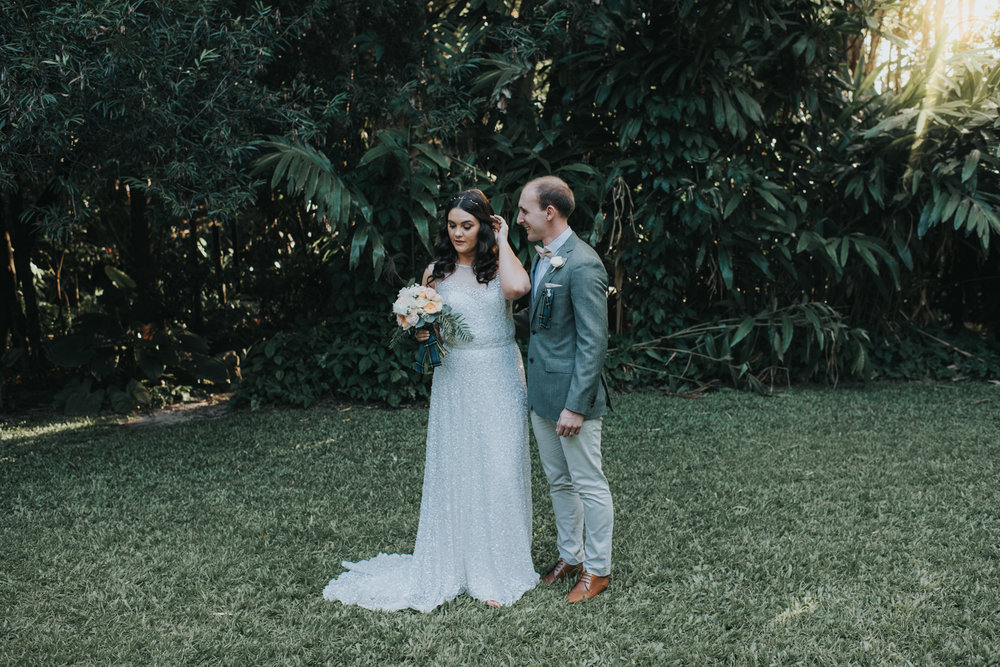 Brisbane City Botanic Gardens Wedding