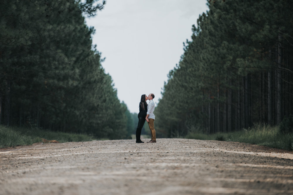 Pine Forest Engagement Sunshine Coast