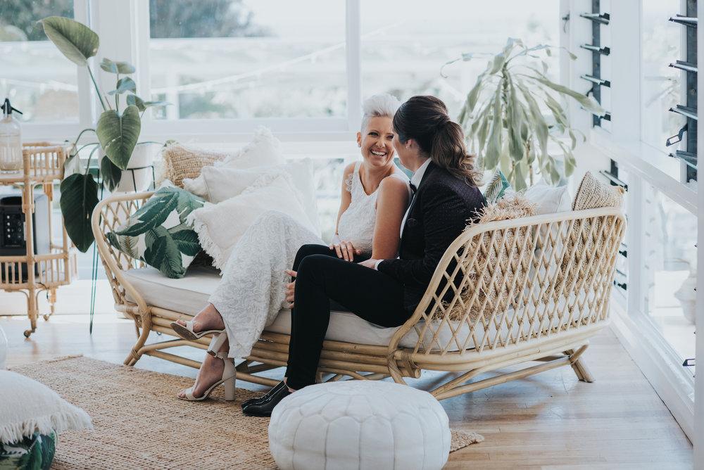 Brisbane same-sex wedding photographer