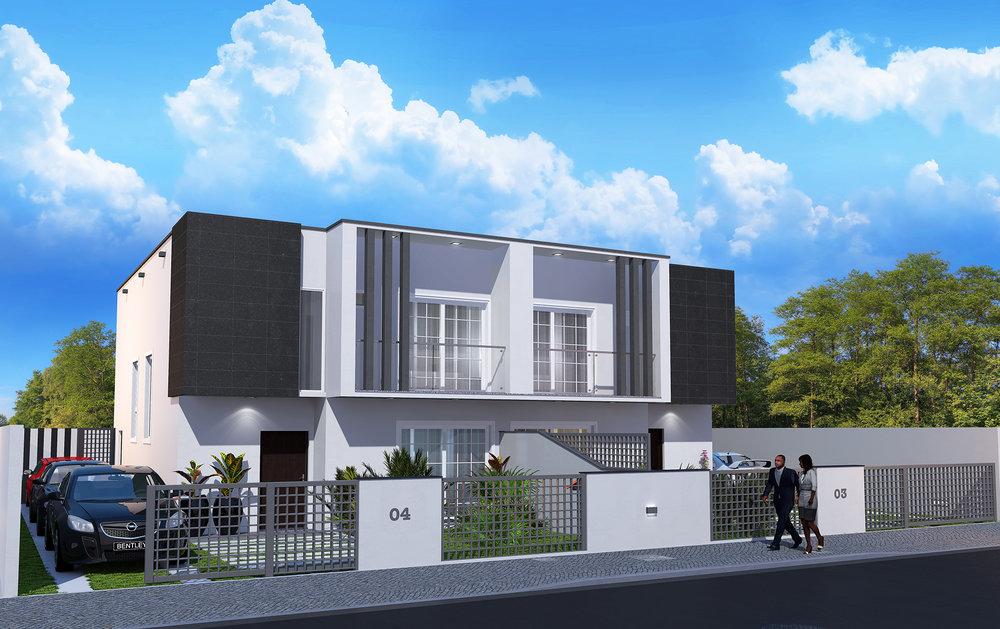 Este é o nosso modelo prata t3. são 300 m2 de área bruta que é para poder sonhar em grande.