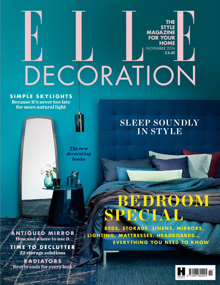 ELLE Decoration (November 2016) - Bespoke Beni Ouarain Rugs