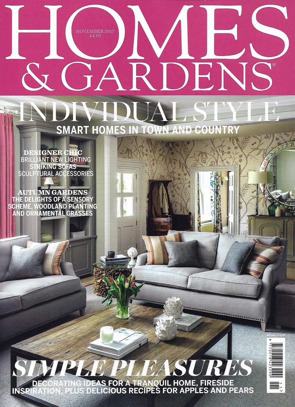 Homes & Gardens (November Issue)