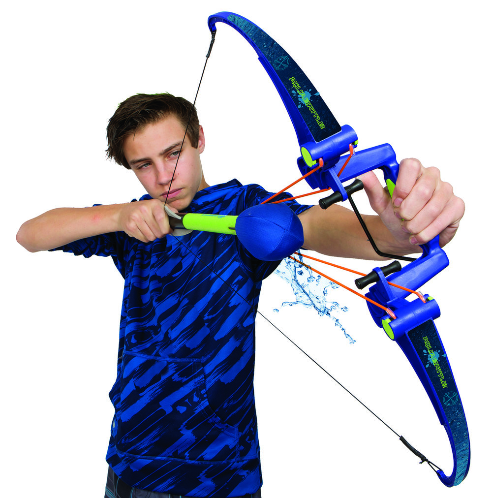 Aqua Battle Mega Bow Compound bow X2 high precision water fight Bow drencher