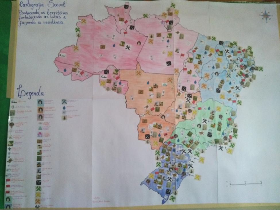 Cartografía social del Estado de Paraná, Brasil