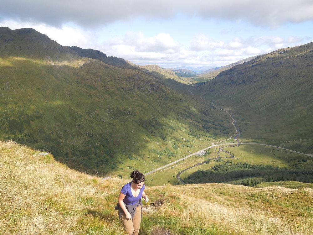 Beinn an Lochain, Scottish Highlands