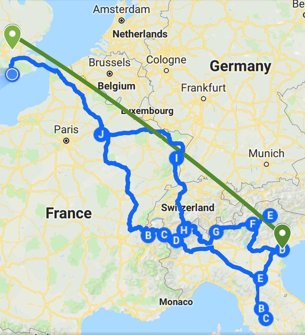 Europe Roadtrip Italy Switzerland France Pt 1 Peripatetic