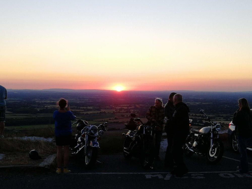 Devil's Dyke sunset