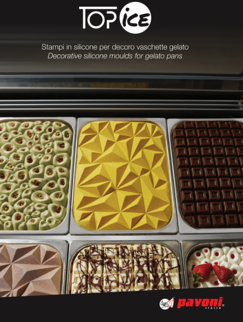 TOP ICE FOR GELATO DISPLAYS