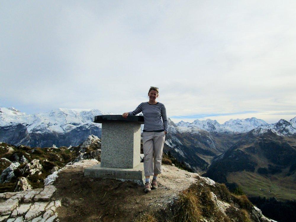 Dent du Villard summit