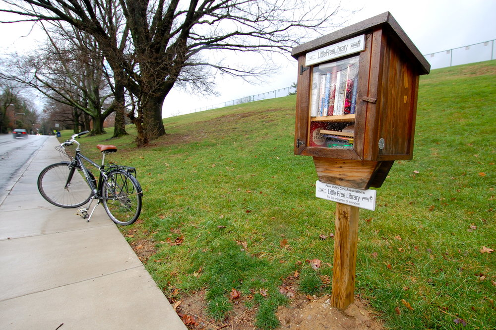 Your dues purchased the kit to build the first Little Free Library in Penn Valley.  We're pleased to see all of the books coming and going!  Read more about the team effort that made this happen  here .