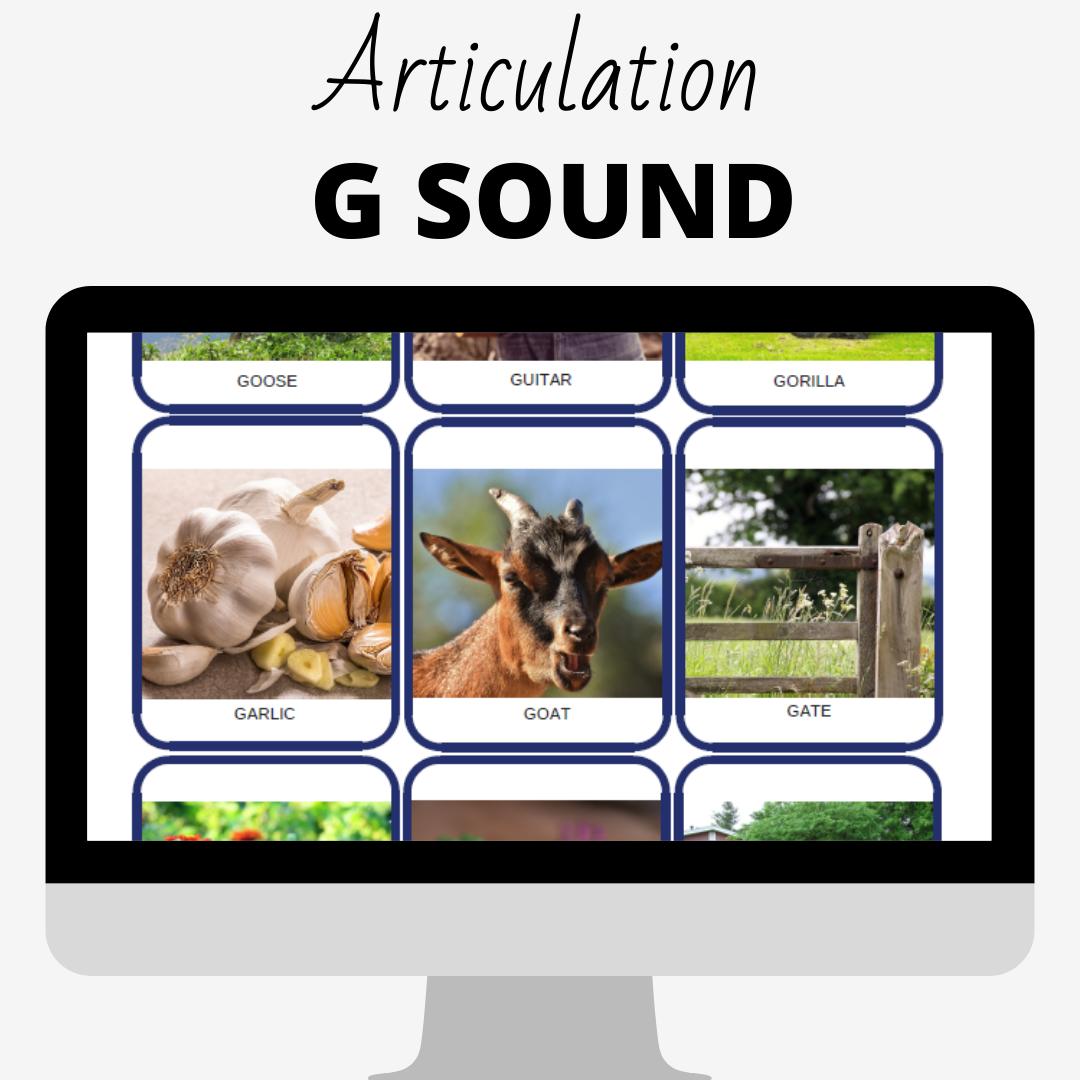 Clearway Speech — Articulation G Sound