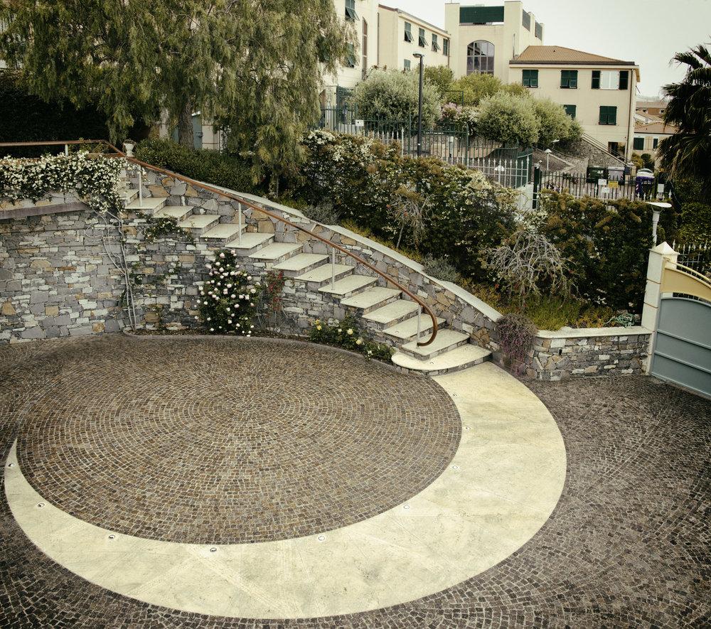 Ingresso Giardino Scala Esterna Riva Ligure - Imperia