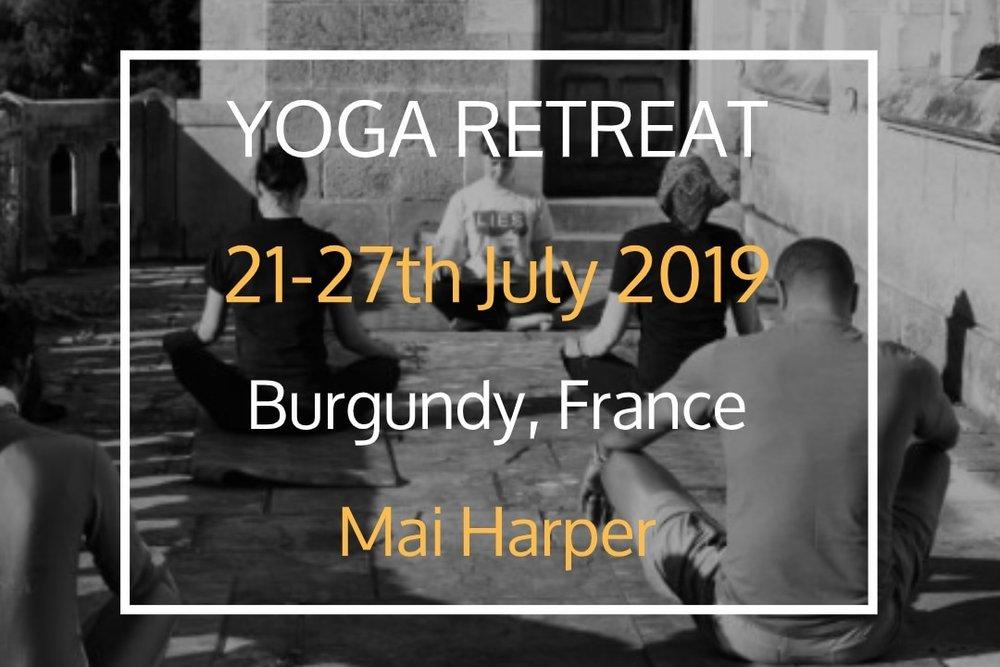 Yoga and Detox Retreat - 21 Jul, 2019 17:00 - 27 Jul, 2019 11:00Ferme du Chateau de LaSalle (map)