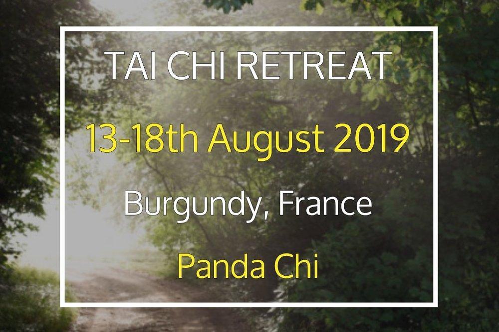Self-Realisation Tai Chi Retreat - 13 Aug, 2019 15:30 - 18 Aug, 2019 14:30Ferme du Chateau de LaSalle (map)